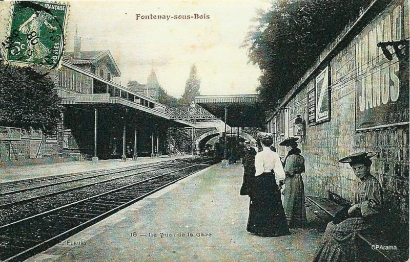 Ligne de la Bastille, ancëtre du RER de Saint-Mandé à Boissy-Saint-Léger T810