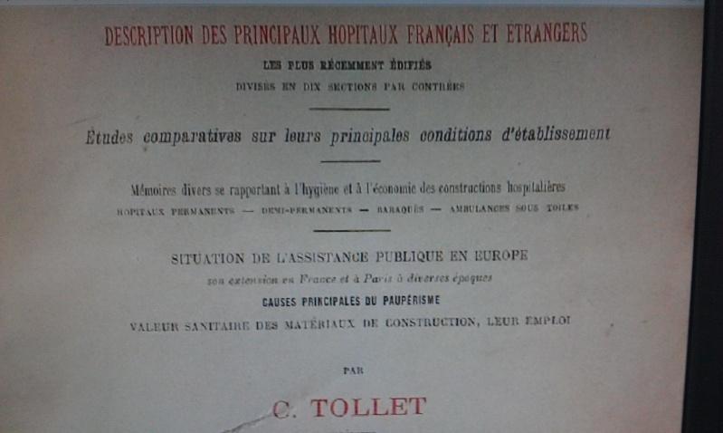 La création de l'Hospice Intercommunal de FONTENAY-SOUS-BOIS Tollet14