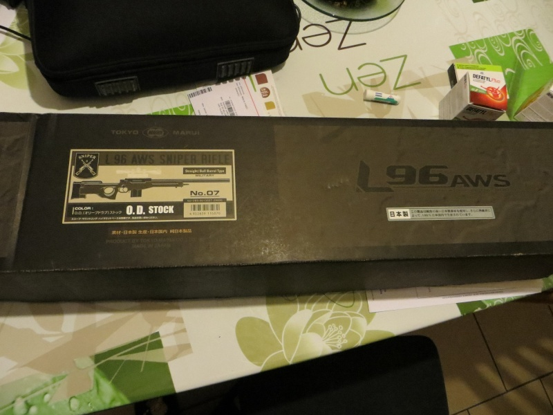 L96 AWS tokyo marui à vendre nouveau prix L9614