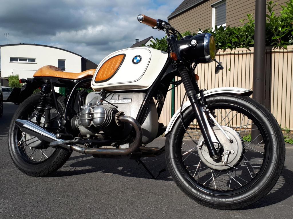 R75/5 1971 cafe racer ou bratstyle ou autre? - Page 3 20180621