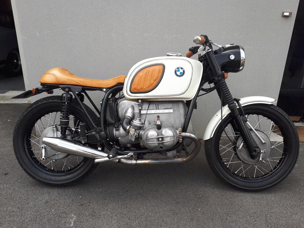 BMW 75/5 café racer 20180625