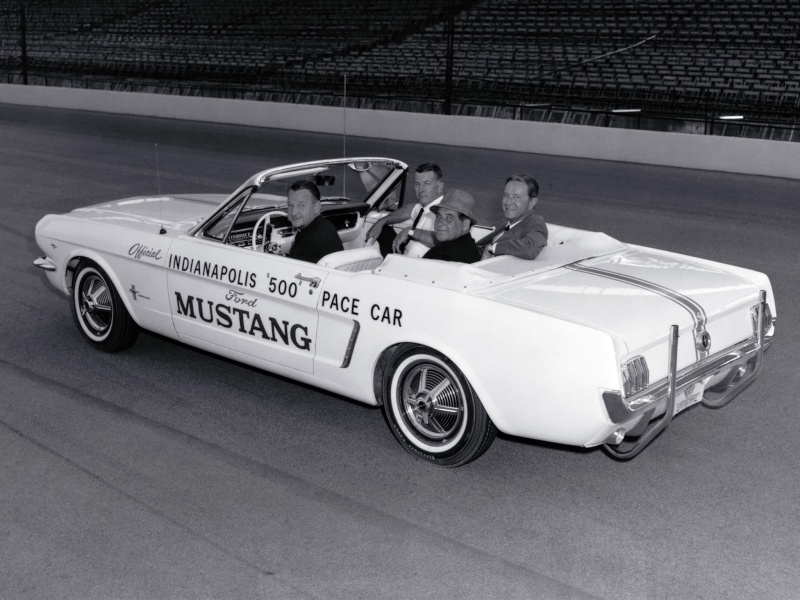Mustang 1964 1/2 Official Pace Car - Page 2 1-cfd711