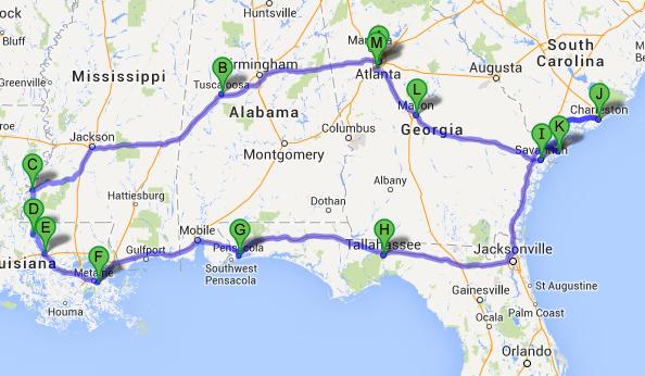 Mega Road Trip aux Usa avec une mini touche Disney ! Itinar10