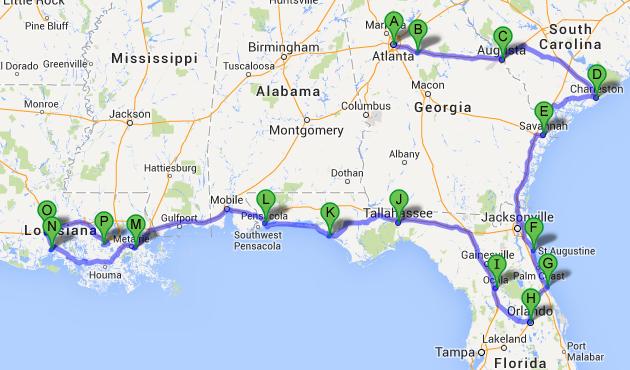 Mega Road Trip aux Usa avec une mini touche Disney ! Itinar11