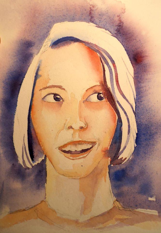 Mes aquarelles... - Page 8 Margot10