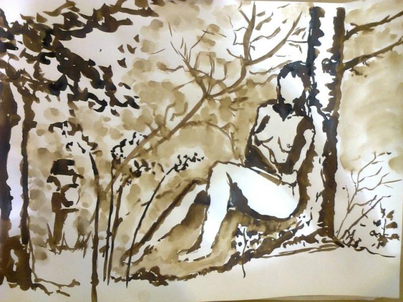 Mes aquarelles... - Page 8 Nu310