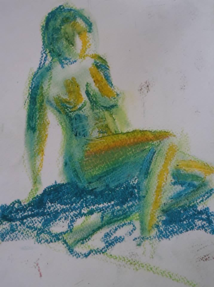 Mes aquarelles... - Page 8 Nu510