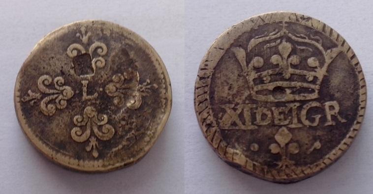 Poids pour le Franc Argent sous Henri III. 110