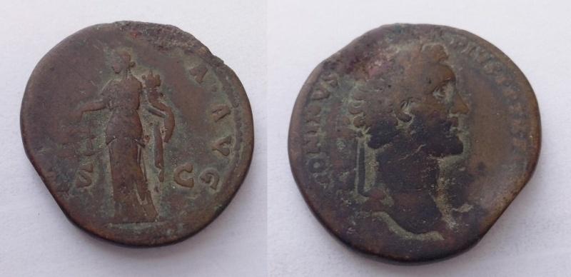Sesterce d Antonin le Pieux 410
