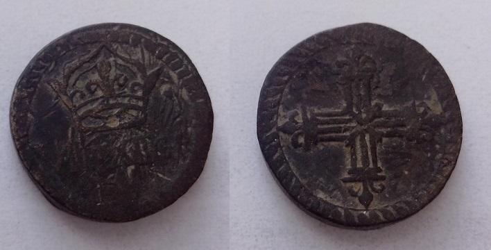 Poids pour le Quart d' écu argent d' Henri III à Louis XIV 710