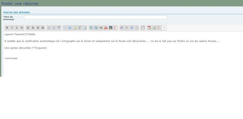 Aides au paramétrage orthographique et correcteur Mode_e10