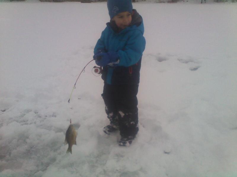 Did some ice fishing 01181413