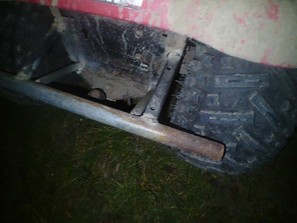 Poulan utility tractor build. Sunp0011