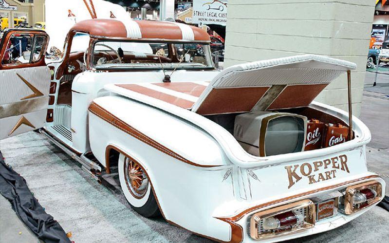 1956 Chevy pick up - Kopper Kart - George Barris 0807sr10