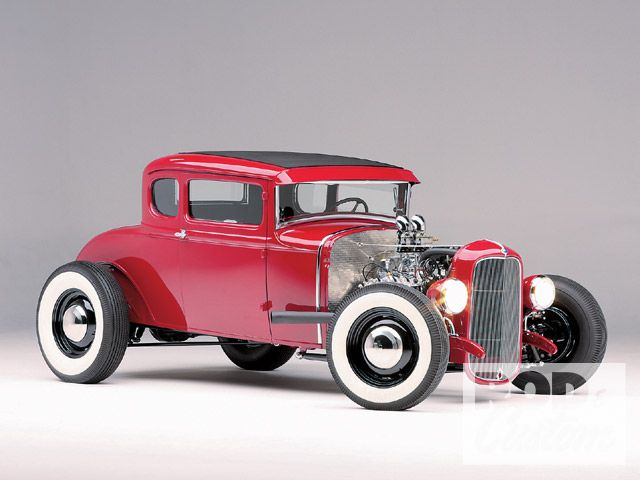 1931 Ford Model A Coupe - Rudi Hillebrand 0905rc19