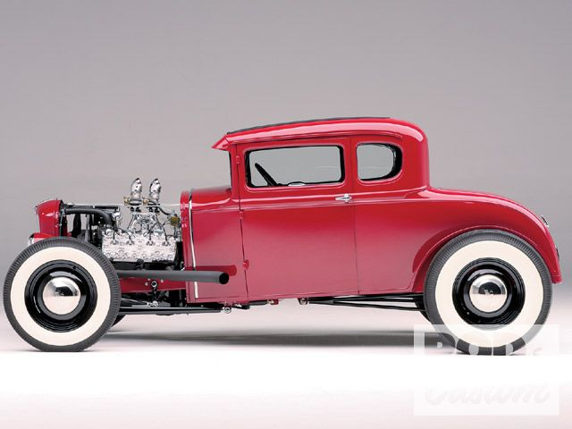 1931 Ford Model A Coupe - Rudi Hillebrand 0905rc24