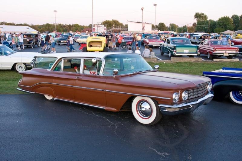 Pontiac 1959 - 62 custom & mild custom 10000110