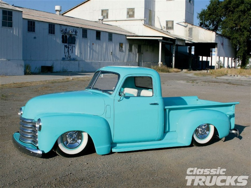 Chevy Pick up 1947 - 1954 custom & mild custom - Page 3 1005cl10
