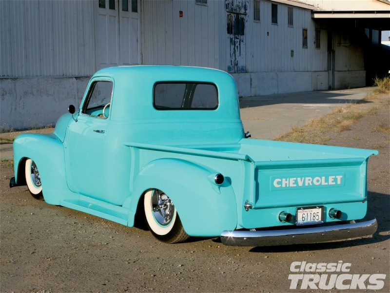 Chevy Pick up 1947 - 1954 custom & mild custom - Page 3 1005cl11