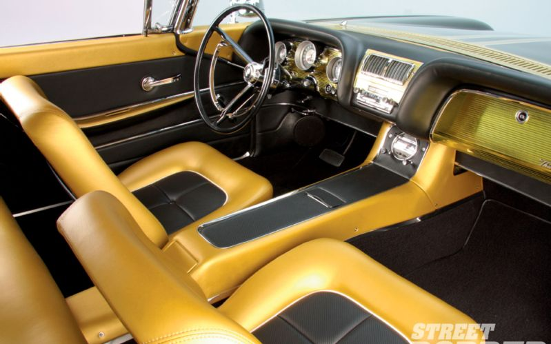 Ford Thunderbird 1958 - 1960 custom & mild custom 1008sr17