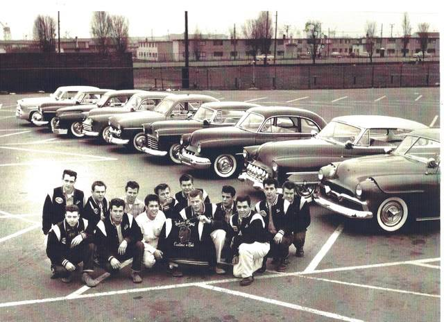 1950's & 1960's hot rod / custom car club 10128210