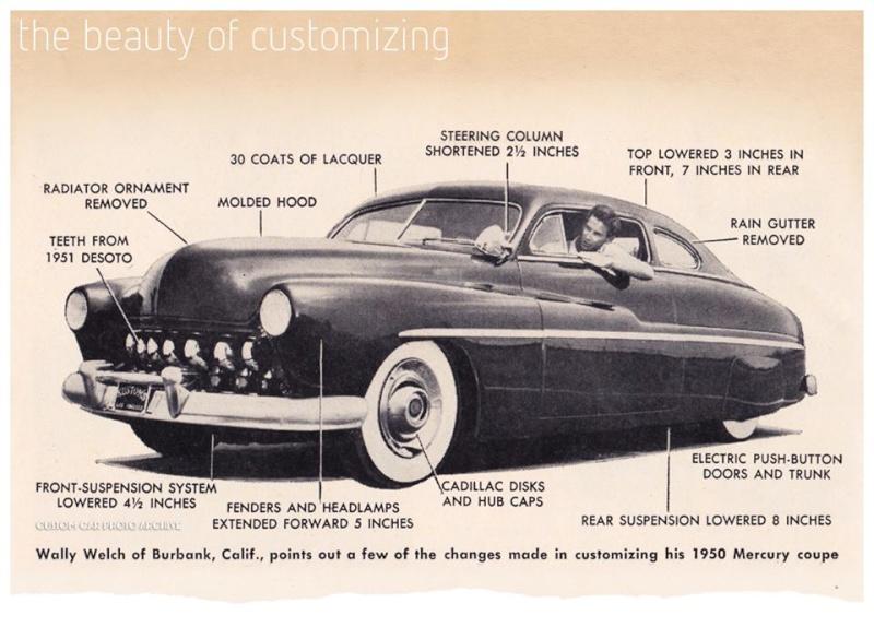 Popular Mechanics April 1953 - kustom car 10136810