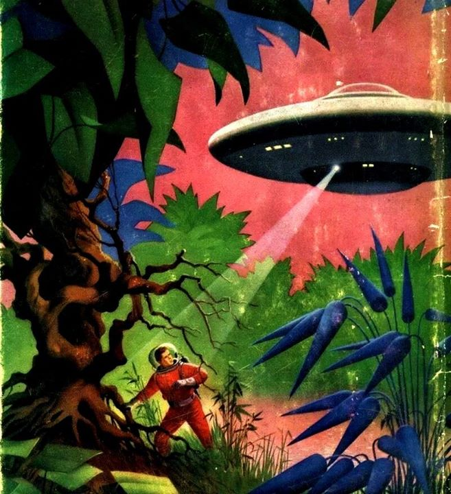 Sciences fiction, soucoupes volantes et extraterrestres - Sci Fi, Flying Saucers and Aliens 10153610