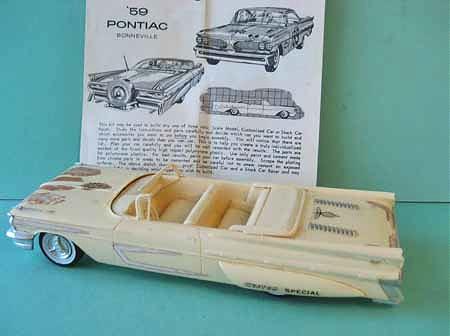 Vintage built automobile model kit survivor - Hot rod et Custom car maquettes montées anciennes 1015po10