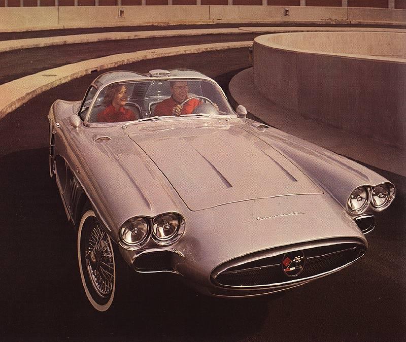 1958 Chevrolet Corvette XP-700 10259812