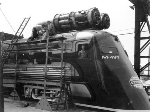 Locomotives et trains vintages 10300210