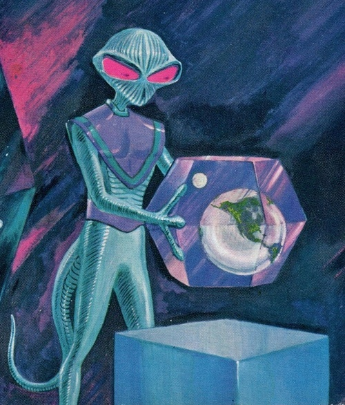 Sciences fiction, soucoupes volantes et extraterrestres - Sci Fi, Flying Saucers and Aliens 10304310