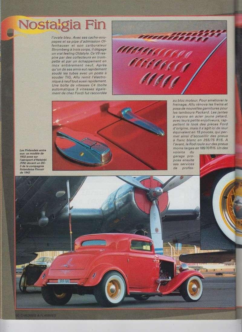 Nostalgia Fin - Ford Three Window Coupe 1932 - Chromes Flammes 10310