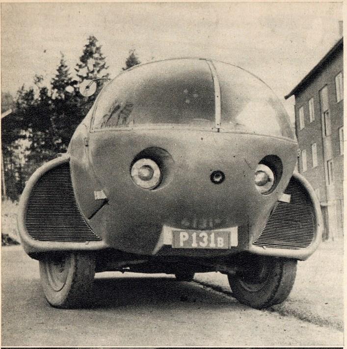 Future car 1951 - Sigvard Berggren 10320513