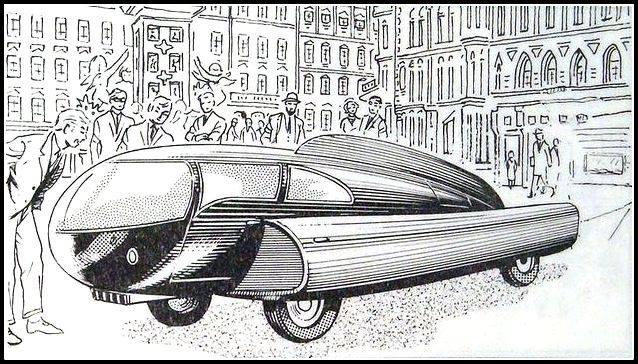 Future car 1951 - Sigvard Berggren 10390910