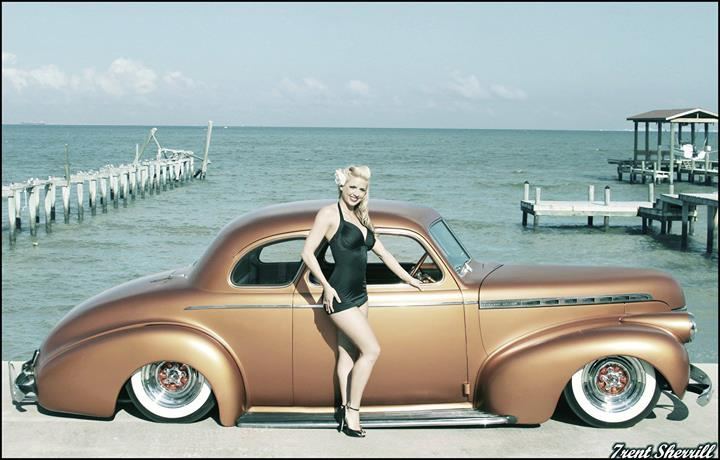 Chevy 1940 - 45 custom & mild custom 10408010