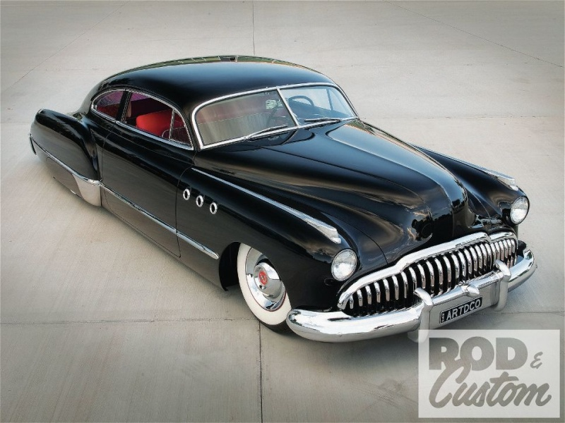Buick 1943 - 49 custom & mild custom 1107rc10