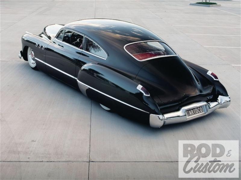 Buick 1943 - 49 custom & mild custom 1107rc20