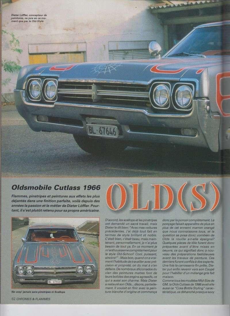 Old(s) School - Oldsmobile Cutlass 1966 custom  - Chromes Flammes 11410