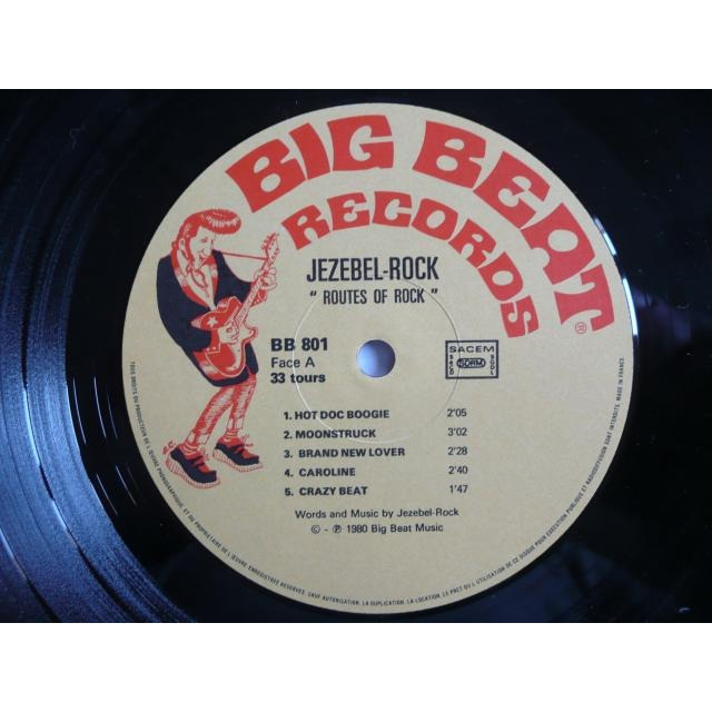 Le label - Big Beat Records - rockabilly to the 1980's  11413011