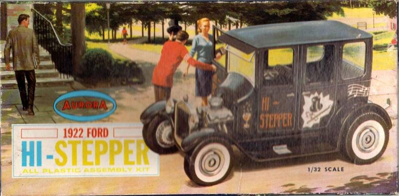 1922 Ford hot rod - Aurora - Hi Stepper - 1/32 - 115