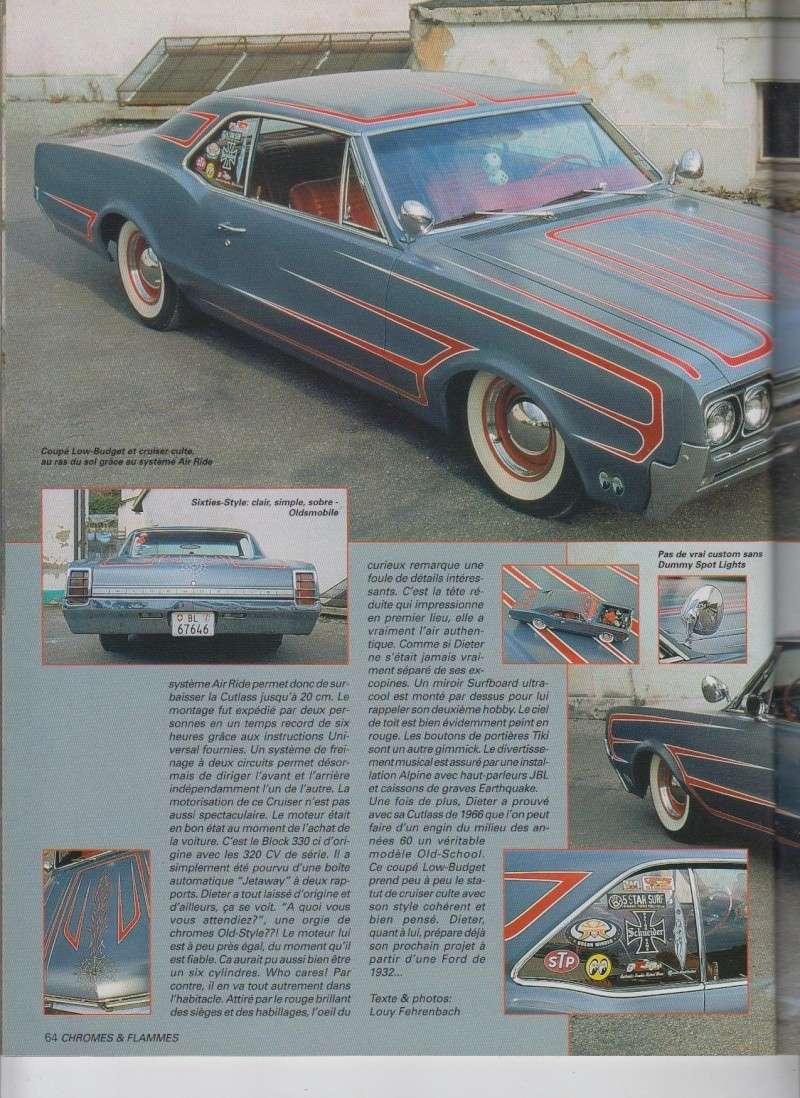 Old(s) School - Oldsmobile Cutlass 1966 custom  - Chromes Flammes 11610