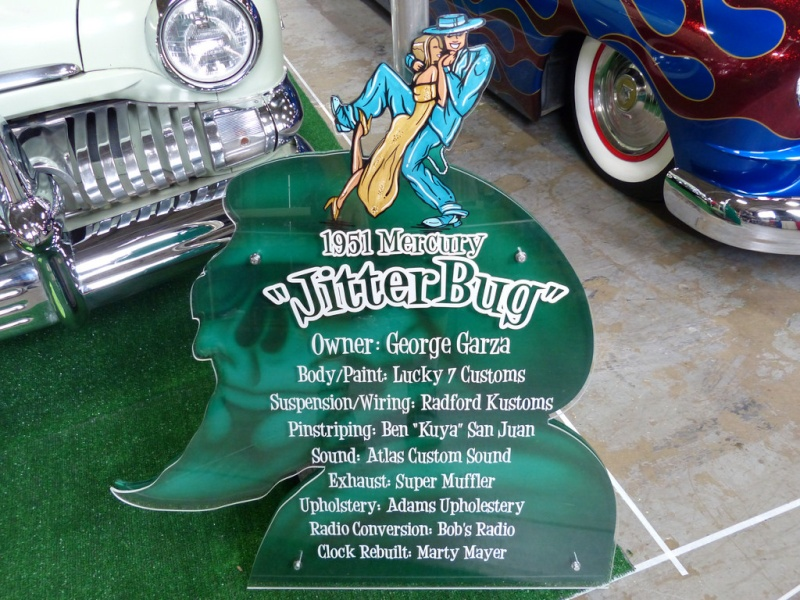 1951 Mercury - Jitter Bugs -  George Garza - Lucky 7 Customs 12270311