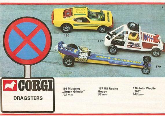 Corgi Dragster - 1/43 scale - Drag Racing 12923511