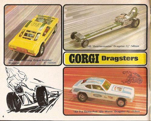 Corgi Dragster - 1/43 scale - Drag Racing 12937910