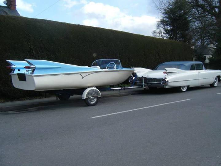 Bateaux vintages, customs & dragsters, Drag & custom boat  13774210