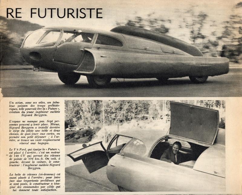Future car 1951 - Sigvard Berggren 14098910
