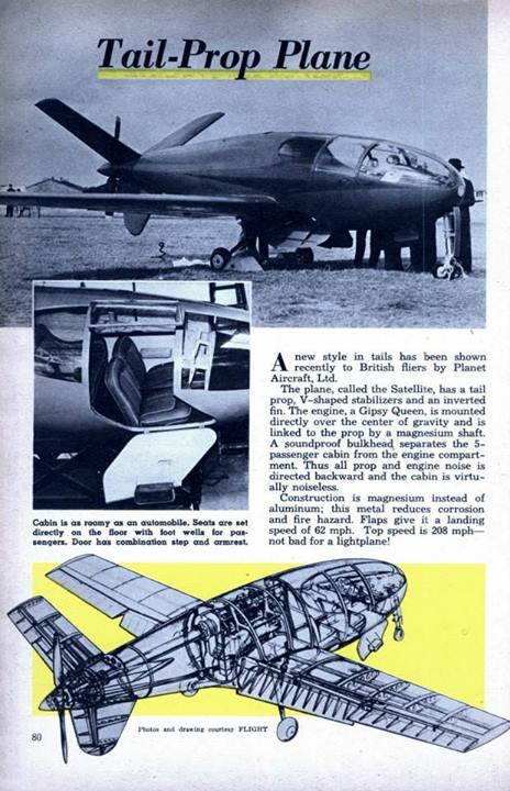 Avions 1950's, futuristes et vaisseaux spaciaux - Vintage Spaceships, Starships and futuristic planes.  15054510