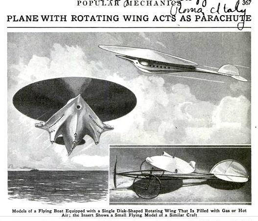 Avions 1950's, futuristes et vaisseaux spaciaux - Vintage Spaceships, Starships and futuristic planes.  15387710