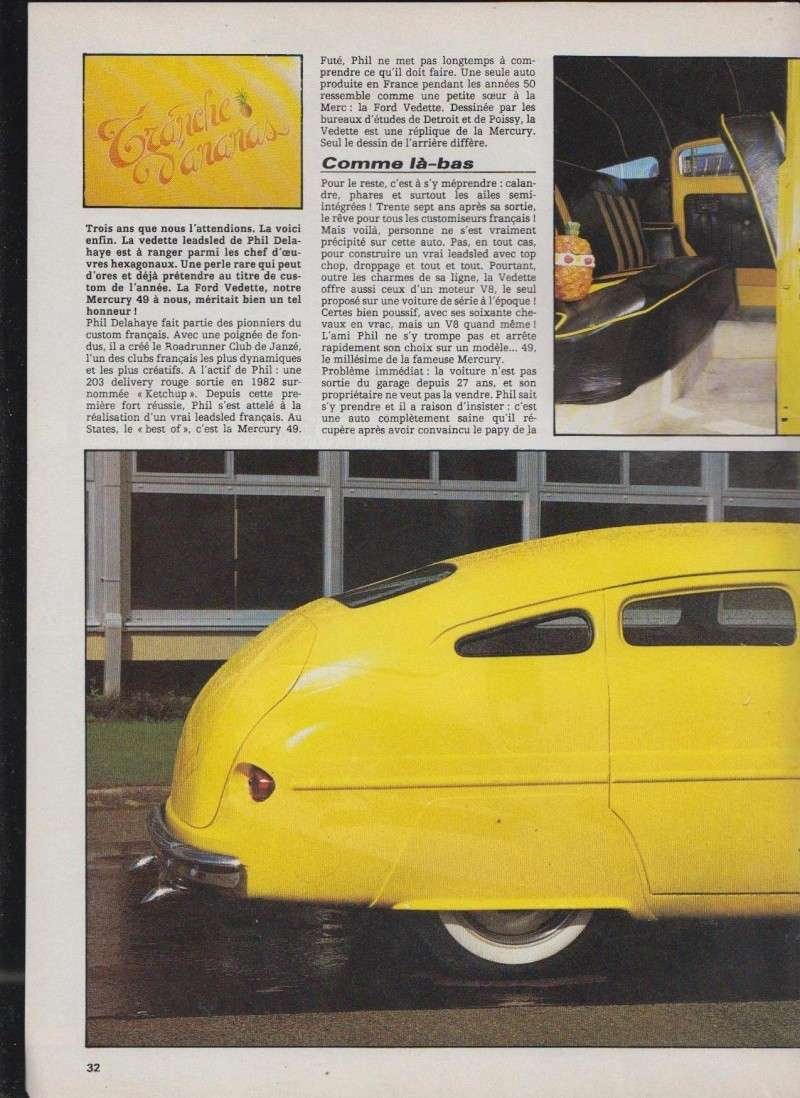 Tranches d'Ananas - Ford Vedette Leadsled - Nitro 1712