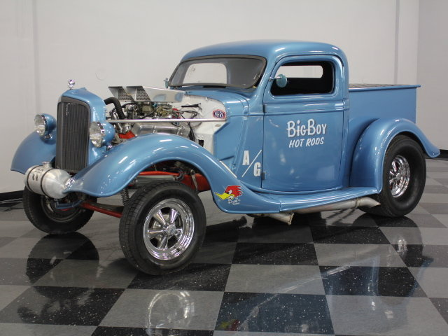 30's & 40's Ford gasser 17792510
